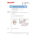 Sharp AR-M550 (serv.man93) Technical Bulletin