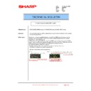 Sharp AR-M550 (serv.man95) Technical Bulletin