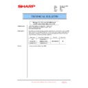 Sharp AR-M550 (serv.man96) Technical Bulletin