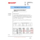 Sharp AR-M550 (serv.man98) Technical Bulletin