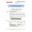 Sharp AR-M620 (serv.man110) Technical Bulletin