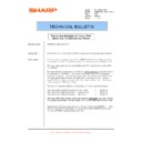 Sharp AR-M620 (serv.man135) Technical Bulletin