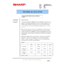 Sharp AR-M620 (serv.man144) Technical Bulletin