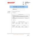 Sharp AR-M620 (serv.man148) Technical Bulletin