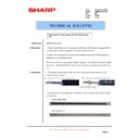 Sharp AR-M620 (serv.man156) Technical Bulletin