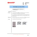 Sharp AR-M620 (serv.man158) Technical Bulletin