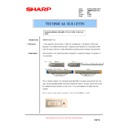 Sharp AR-M620 (serv.man159) Technical Bulletin