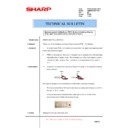 Sharp AR-M620 (serv.man161) Technical Bulletin