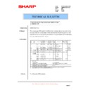 Sharp AR-M620 (serv.man162) Technical Bulletin