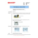 Sharp AR-M620 (serv.man163) Technical Bulletin