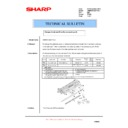 Sharp AR-M620 (serv.man164) Technical Bulletin