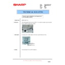 Sharp AR-M620 (serv.man165) Technical Bulletin