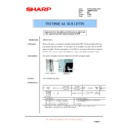 Sharp AR-M620 (serv.man168) Technical Bulletin