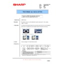 Sharp AR-M620 (serv.man169) Technical Bulletin