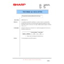 Sharp AR-M620 (serv.man171) Technical Bulletin