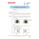 Sharp AR-M620 (serv.man175) Technical Bulletin