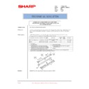 Sharp AR-M620 (serv.man185) Technical Bulletin