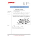 Sharp AR-M620 (serv.man190) Technical Bulletin