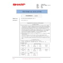 Sharp AR-M620 (serv.man191) Technical Bulletin