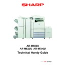 Sharp AR-M620 (serv.man2) Handy Guide