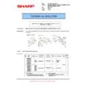 Sharp AR-M700 (serv.man101) Technical Bulletin