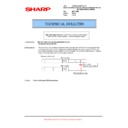 Sharp AR-M700 (serv.man102) Technical Bulletin