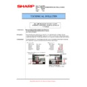 Sharp AR-M700 (serv.man104) Technical Bulletin