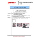 Sharp AR-M700 (serv.man105) Technical Bulletin