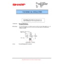 Sharp AR-M700 (serv.man107) Technical Bulletin