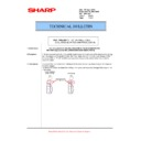 Sharp AR-M700 (serv.man108) Technical Bulletin
