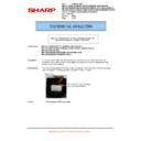 Sharp AR-M700 (serv.man110) Technical Bulletin