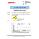 Sharp AR-M700 (serv.man118) Technical Bulletin