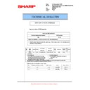 Sharp AR-M700 (serv.man121) Technical Bulletin