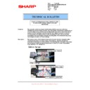 Sharp AR-M700 (serv.man124) Technical Bulletin