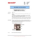 Sharp AR-M700 (serv.man129) Technical Bulletin
