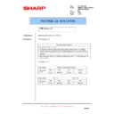 Sharp AR-M700 (serv.man144) Technical Bulletin