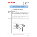 Sharp AR-M700 (serv.man150) Technical Bulletin