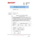 Sharp AR-M700 (serv.man155) Technical Bulletin