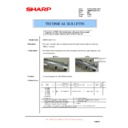 Sharp AR-M700 (serv.man161) Technical Bulletin