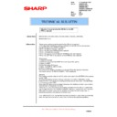 Sharp AR-M700 (serv.man162) Technical Bulletin