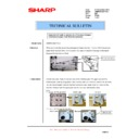 Sharp AR-M700 (serv.man165) Technical Bulletin