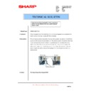Sharp AR-M700 (serv.man166) Technical Bulletin
