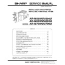 Sharp AR-M700 (serv.man9) Service Manual
