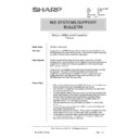 Sharp AR-PB2 (serv.man29) Technical Bulletin