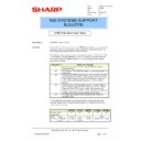Sharp AR-PB2 (serv.man31) Technical Bulletin