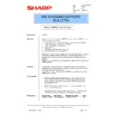 Sharp AR-PB2 (serv.man37) Technical Bulletin
