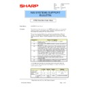 Sharp AR-PB2A (serv.man25) Technical Bulletin