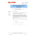 Sharp AR-PB2A (serv.man26) Technical Bulletin