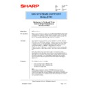 Sharp AR-PB2A (serv.man27) Technical Bulletin