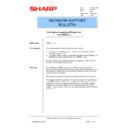 Sharp AR-PB2A (serv.man28) Technical Bulletin